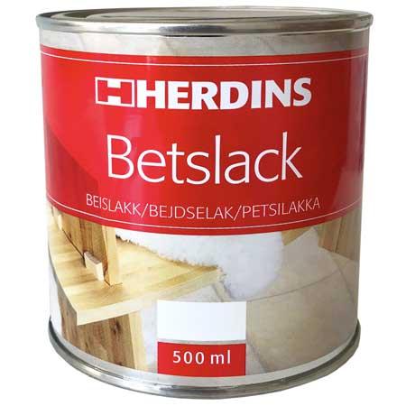 Kanon Herdins Betslack 500ML - Olja, Vax & Bets - Färg - Stuvbutiken WW-95