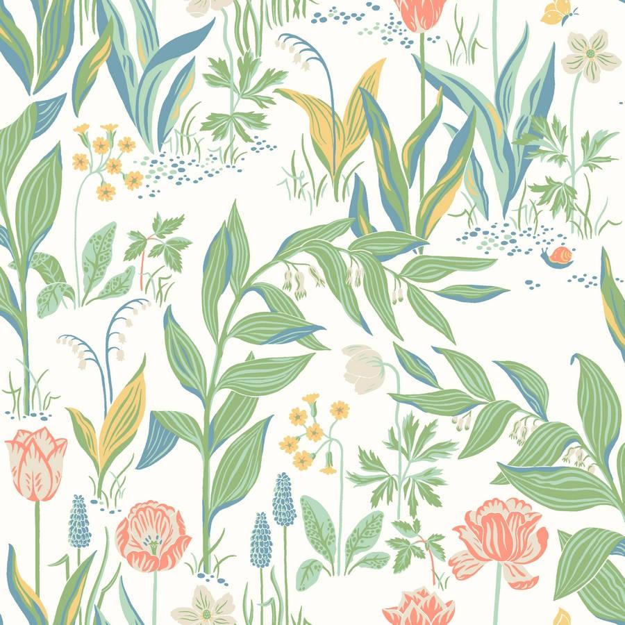 4511dab55aa2 Boråstapeter In Bloom Spring Garden 7218 Easy Up Tapeter - Tape