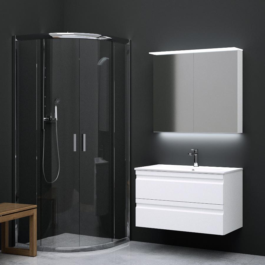 Inredning tvättställ med pelare : Kommod - Badrumsmöbler - Badrum - Stuvbutiken