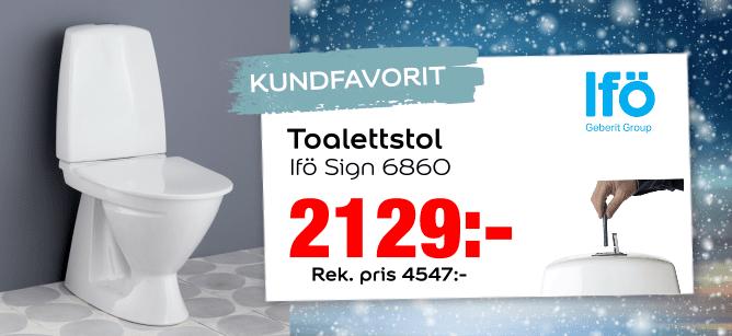 Ifö sign 6860 toalett